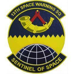 13th Space Warning Squadron Plaque