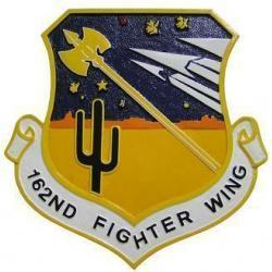 162nd Fighter WIng Seal Plaque