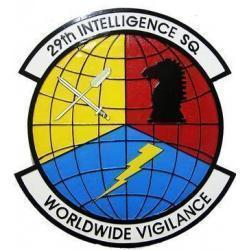 29th Intelligence Squadron Seal Plaque