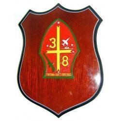 3rd Battalion 8th Marines Unit Plaque