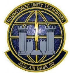 422d Air Base Squadron Plaque