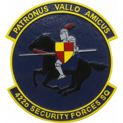 422d security force squadron plaque jpg