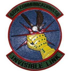 432D Communications Squadron Patch