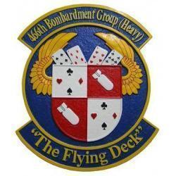 466th Bombardment Group Seal Plaque