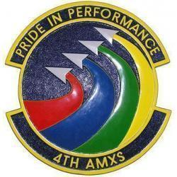 4th AMXS Squadron Plaque