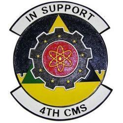 4th CMS Squadron Plaque