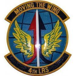 4th LRS Seal Plaque