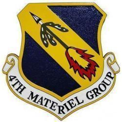 4th Materiel Group Seal Plaque