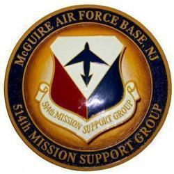 514th MSG Squadron Plaque