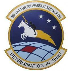 68th Network Warfare Squadron Plaque