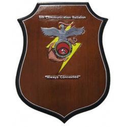 6th Communication Battalion Presentation Plaque