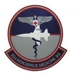 82D Aerospace Med Squadron Seal Plaque