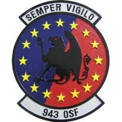 943 OSF Patch Plaque