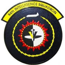 94th intelligence squadron seal plaque