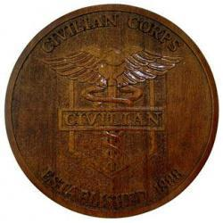AMEDD Civilian Corps Seal Plaque