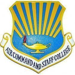 Air Command and Staff College Crest Plaque