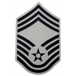 Air Force Chief Master Sergeant Plaque