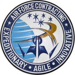 Air Force Contracting Seal Plaque