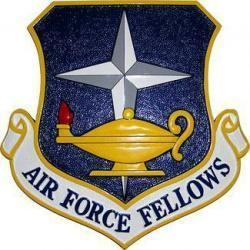 Air Force Fellows Crest Plaque