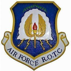 Air Force ROTC Crest Plaque
