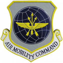 Air Mobility Command Plaque
