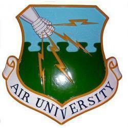 Air University Crest Plaque
