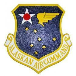 Alaskan Air Command Crest Plaque