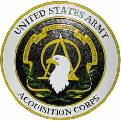 Army Acquisition Corps Seal Plaque
