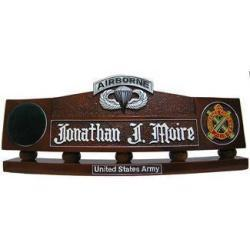 Army Airborne Desk Nameplate