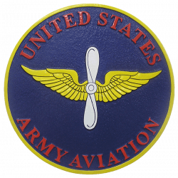Army Aviation Seal Plaque