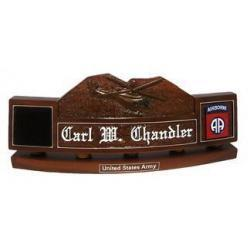 Army Custom Desk Nameplate