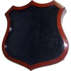 Badge Shaped Display Case