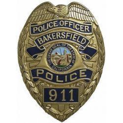 Bakersfield Police Badge Plaque