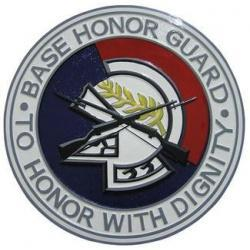 Base Honor Guard Seal Plaque