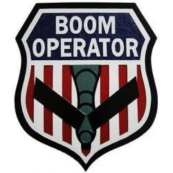 Boom Operator Seal Plaque