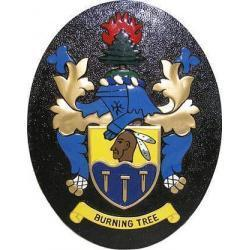 Burning Tree Golf Club Crest