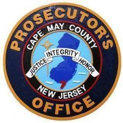 Cape May NJ Prosecutors Office Seal Plaque