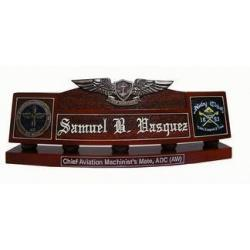 Chief Aviation Machinist Desk Nameplate