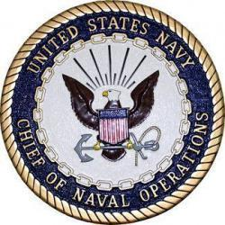 Chief of Naval Operations Seal Plaque