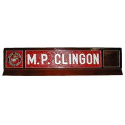 Classic Design 3 Military Desk Name Plate