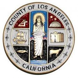County of Los Angeles Seal Plaque