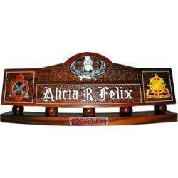 Custom Design Army Desk Nameplate