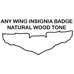 Custom Wing Standard Size Natural Finish