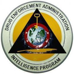 DEA Intelligence Program Seal Plaque
