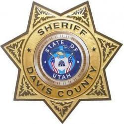 Davis County Sheriff Badge Plaque