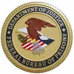 Department of Justice Federal Bureau of Prisons Seal Plaque