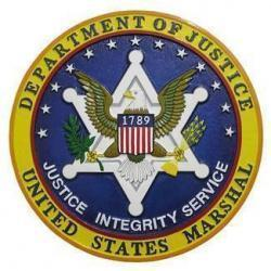 Department of Justice Marshal Seal Plaque