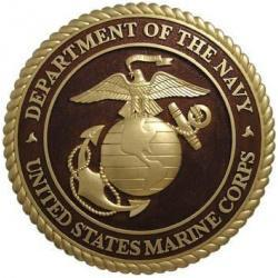 Department of Navy USMC Plaque