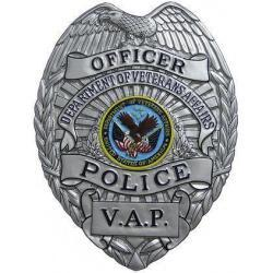 Department of Veterans Affairs Police VAP Badge Plaque