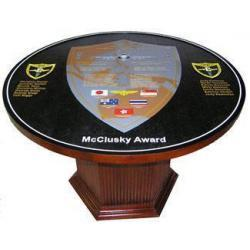 Deployment Plaque Table